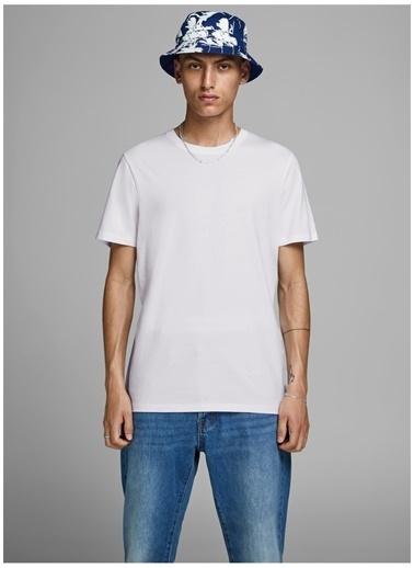 Jack & Jones Jack & Jones 12156101 Beyaz  T-Shirt Beyaz